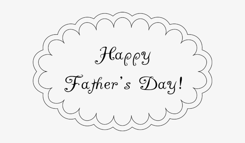 Fathers Day Printable Cloud Card.