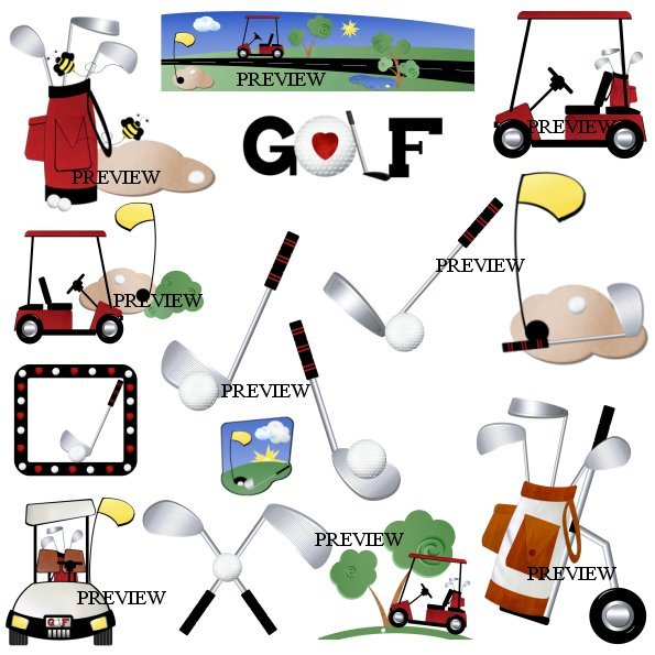 Golf graphics from J.Rett.