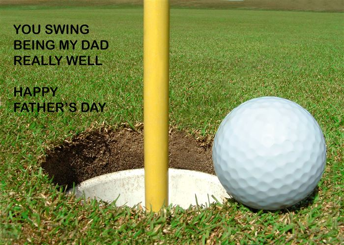 Happy Fathers Day Quotes Sayings And A Hole In One. QuotesGram.