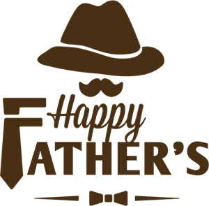 Happy Father\'s Day Logo Vector (.AI) Free Download.