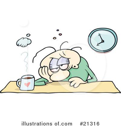 Fatigue Clip Art.