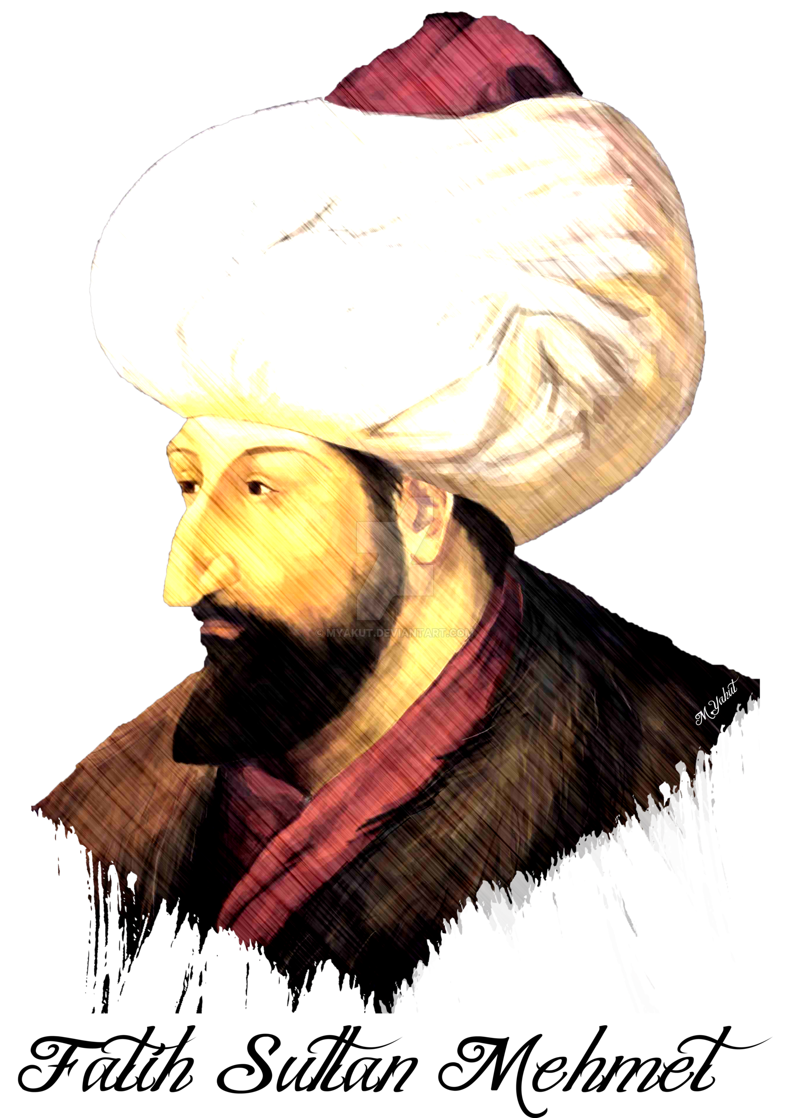 Fatih Sultan Mehmet by myakut on DeviantArt.