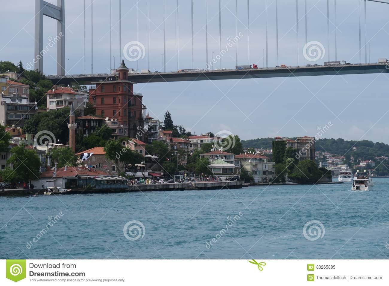 Fatih Sultan Mehmet Bridge.