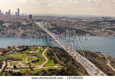 Fatih Sultan Mehmet Bridge Stock Photos, Royalty.