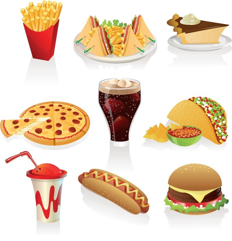 Fat Food Clipart.