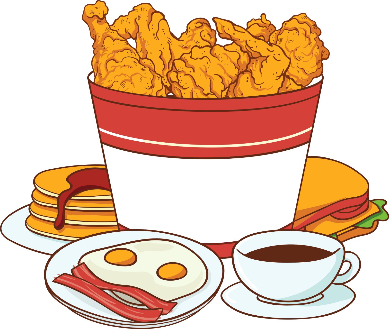 Fries clipart fat food, Fries fat food Transparent FREE for.