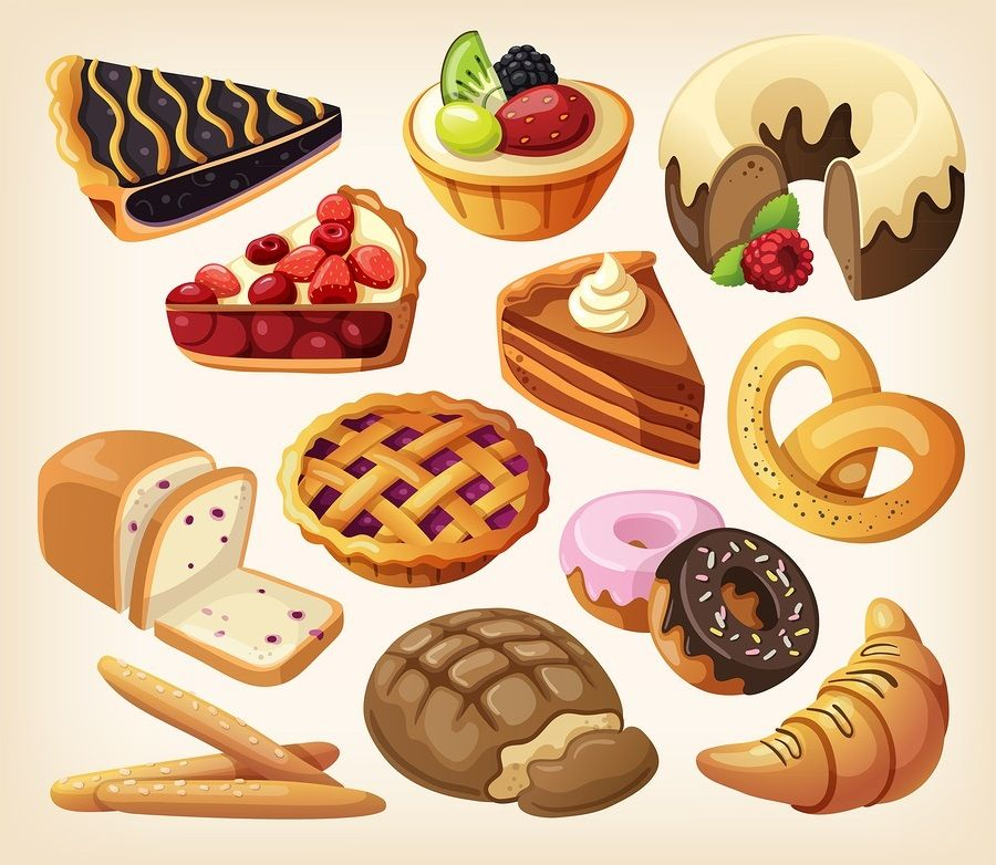 Fatty foods clipart » Clipart Station.