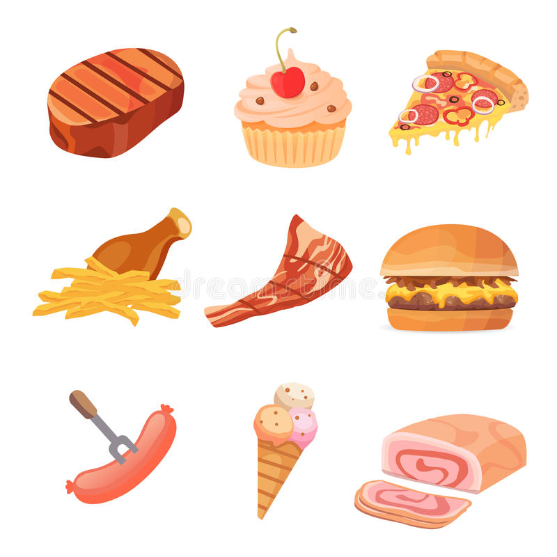 Fatty foods clipart 2 » Clipart Station.