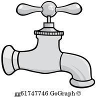 Water Faucet Clip Art.