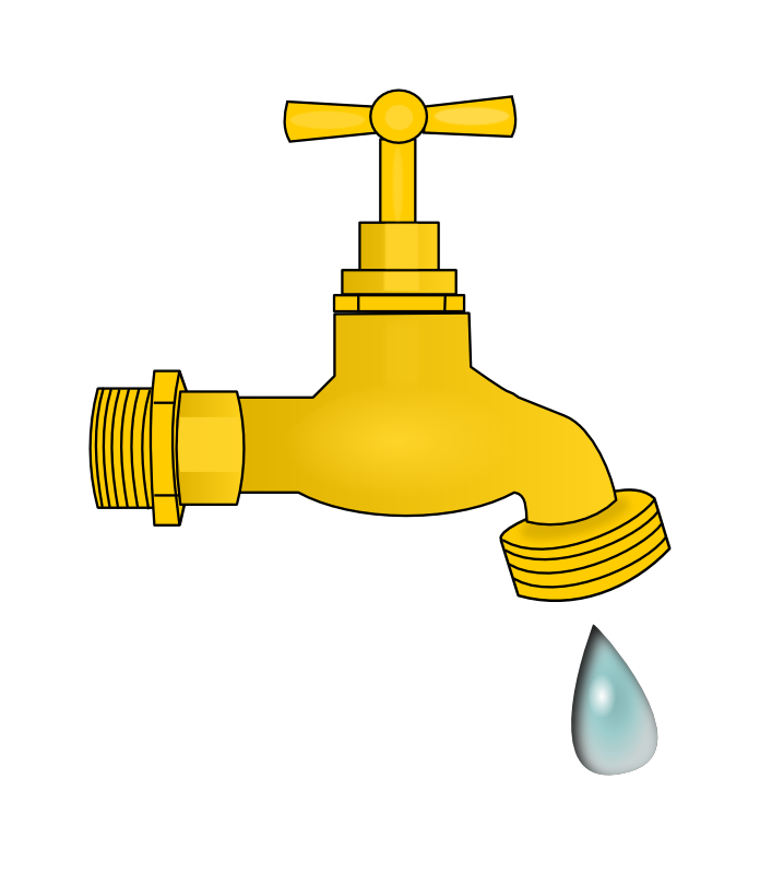 Free Water Faucet Clip Art.