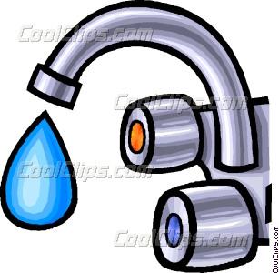 Faucet clip art.