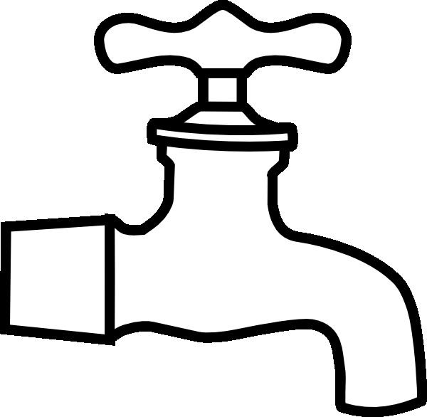 Faucet Clipart.