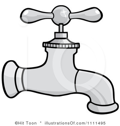 Turn Off Faucet Clipart.