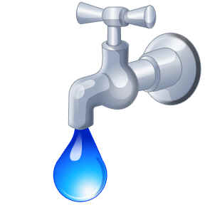 Faucets Powerpoint Clipart.