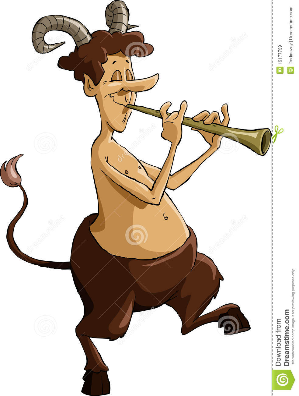 Faun Royalty Free Stock Images.