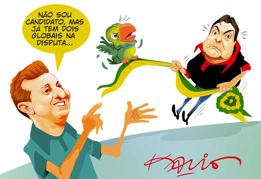 Entre o Faustão e o Louro José… Prefiro o Pelé!.