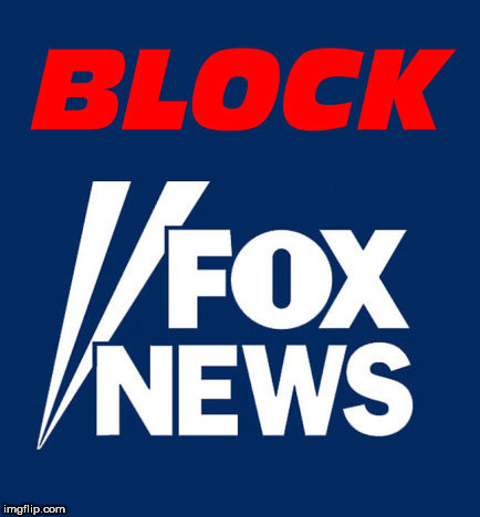 Image tagged in fox news,faux news,evil,fake news,bad news.