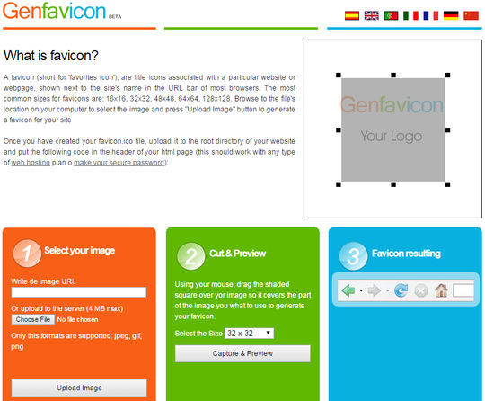 10 Free Favicon Generators For Web Designers.