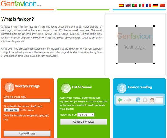 10 Free Favicon Generators For Web Designers.