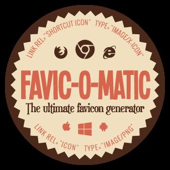 The ultimate favicon generator.