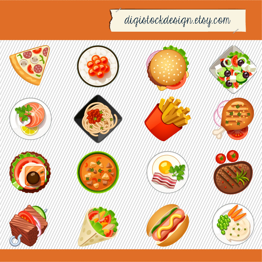 Fastfood Clipart.