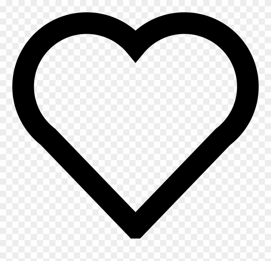 Love Clipart Simple Heart.