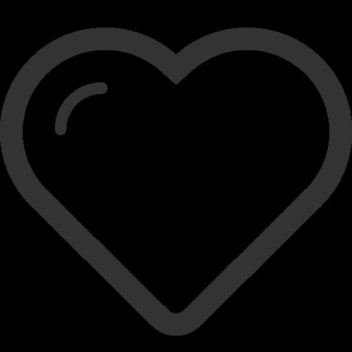 favorite heart love valentines day icon.