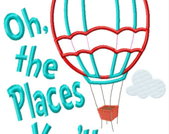 Oh The Places You Ll Go Clipart.