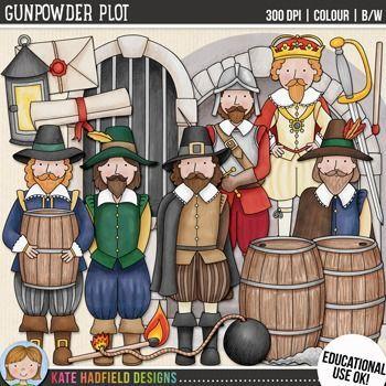 Gunpowder Plot Clip Art.