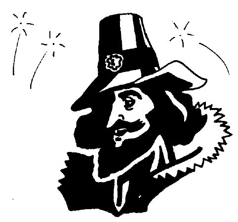Guy fawkes day clipart.
