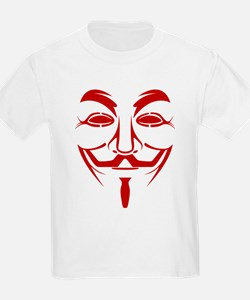 Guy Fawkes Mask Clipart Kid's Clothing.