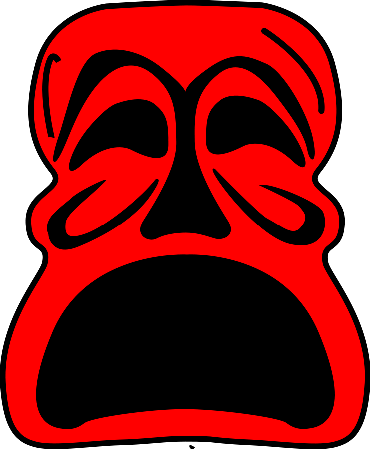 Guy Fawkes mask Clipart, vector clip art online, royalty free.