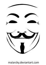 guy fawkes mask stencil.
