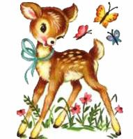 Fawn cliparts.