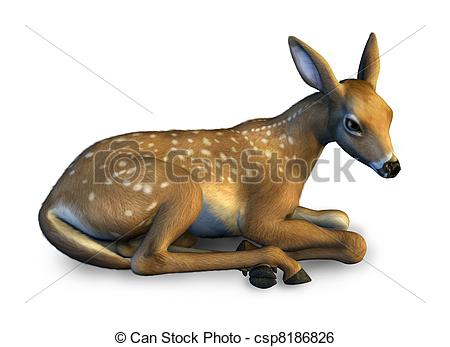 Fawns Illustrations and Clipart. 919 Fawns royalty free.