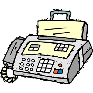 Clipart Fax.