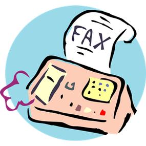 Fax Machine Image.