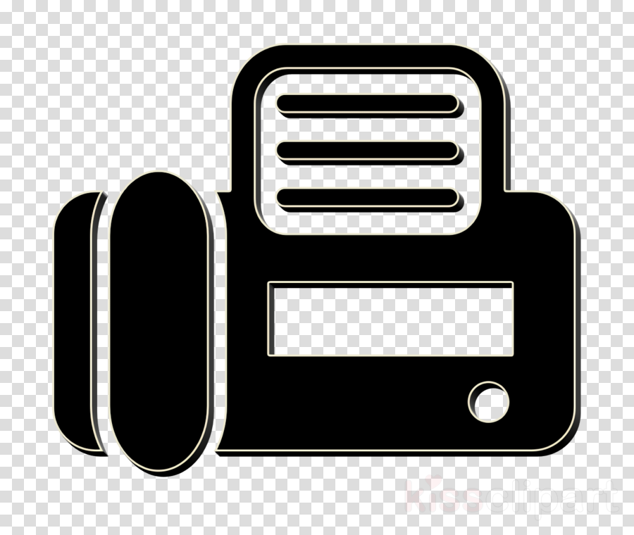 communications icon Fax top view icon Lodgicons icon clipart.