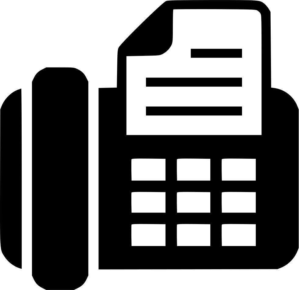 Fax Svg Png Icon Free Download (#473983).