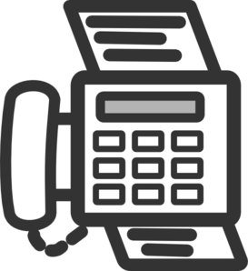 Fax Machine Clip Art at Clker.com.