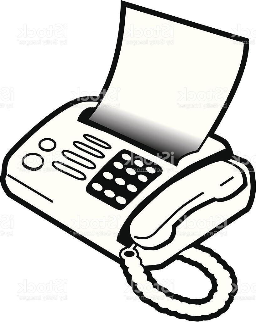 Fax Clipart.