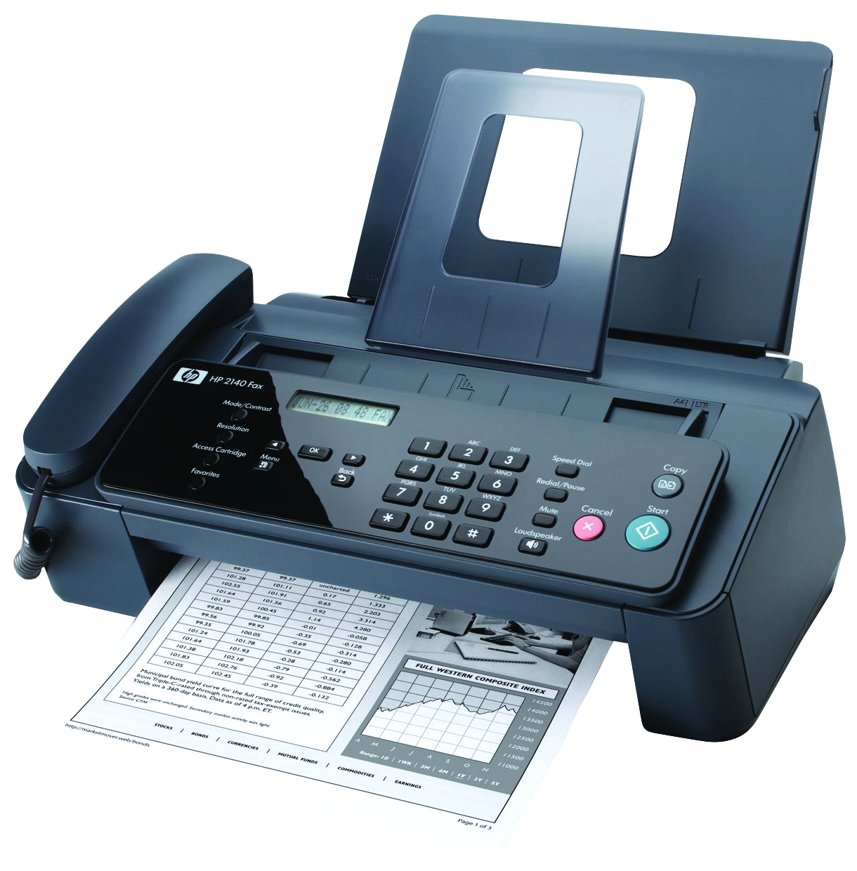 Fax Machine PNG Image.