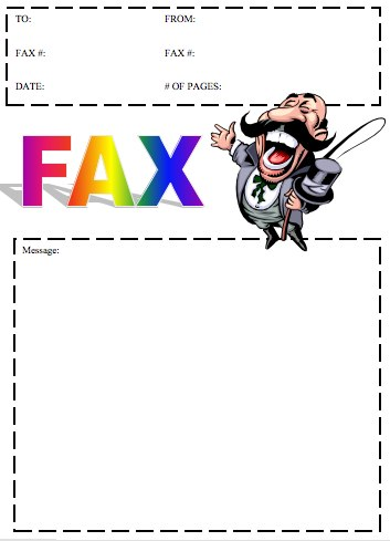 10 seriously funny faxes.