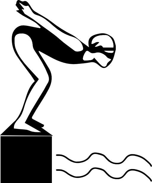 Olympic Swimming Clipart