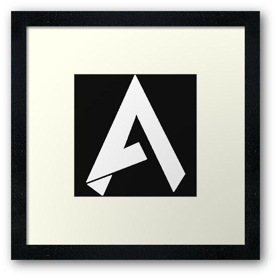 '*NEW* FaZe Apex (WHITE) Logo!!' Framed Print by CodCommunity.