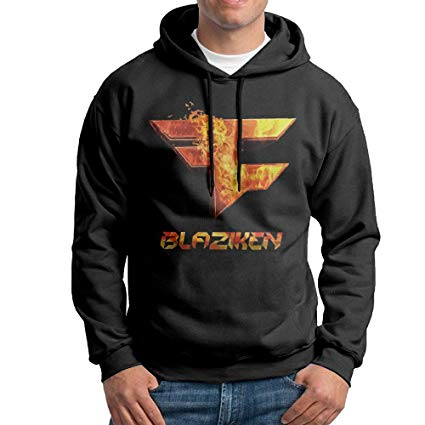 Amazon.com : FaZe Blaziken Logo Mens 100% Cotton Hoody.
