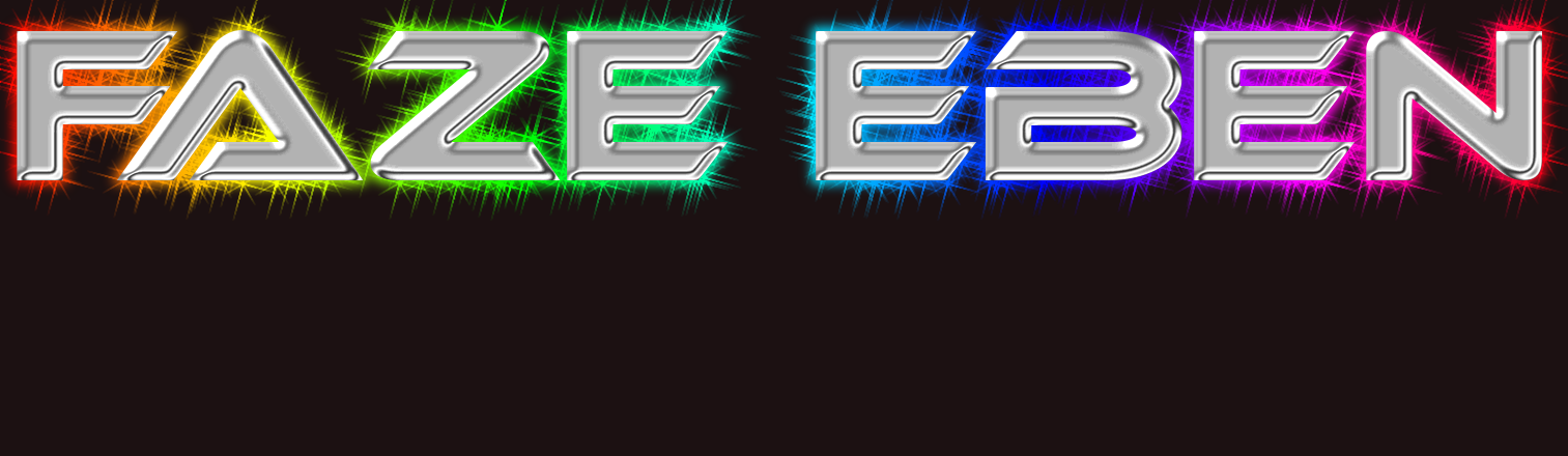 Faze EBEN logo. Free logo maker..