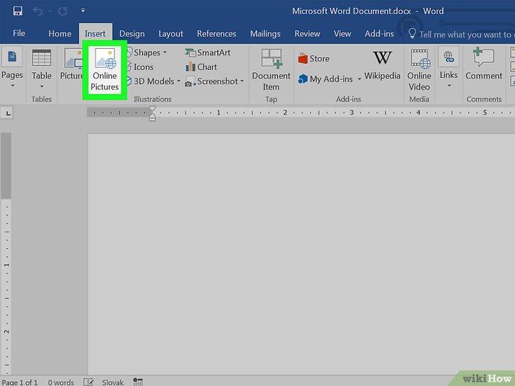Como Inserir Cliparts em um Documento do Microsoft Word.