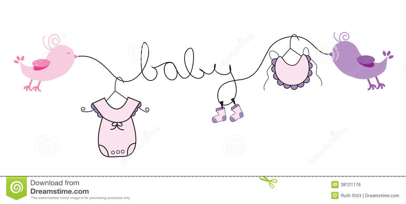 Baby Girl Clipart Free.