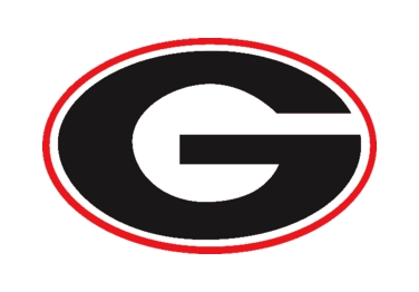 Georgia Bulldogs Football Logo.